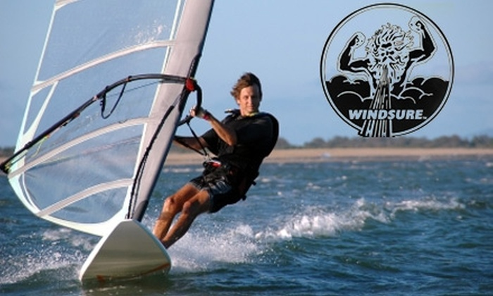 Windsure Adventure Watersports - West Point Grey: $15 for an Introduction to Windsurfing Class from Windsure Adventure Watersports ($52 Value)
