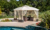 Somerset Outdoor Steel Gazebo Canopy: Somerset Outdoor Steel Gazebo Canopy