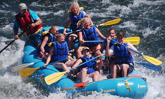 Adventure Connection - North El Dorado: One-Day Rafting Trip with Lunch for One or Two-Day Rafting Trip with and Wine Tasting for One or Two from Adventure Connection in Coloma (Up to 54% Off)