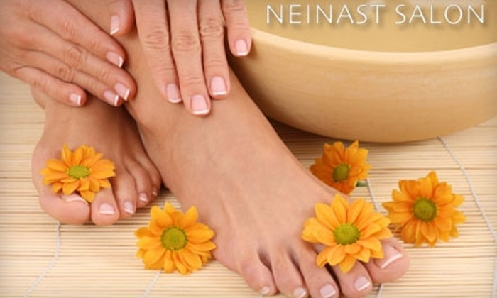 Nail Sweet - Oak Lawn: $39 for a Mani-Pedi at Nail Sweet Inside the Neinast Salon ($90 Value)