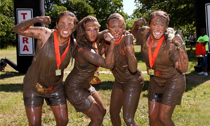 The National MudRunners Association - Filthy Nation: Halloween Hustle 5K Mud Race for One, Two, or Four from The National MudRunners Association (Up to 72% Off)
