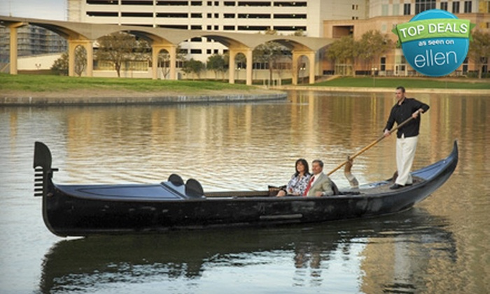 Gondola Adventures - Multiple Locations: Gondola Cruise Package for Up to Four from Gondola Adventures in Irving (Up to 67% Off)