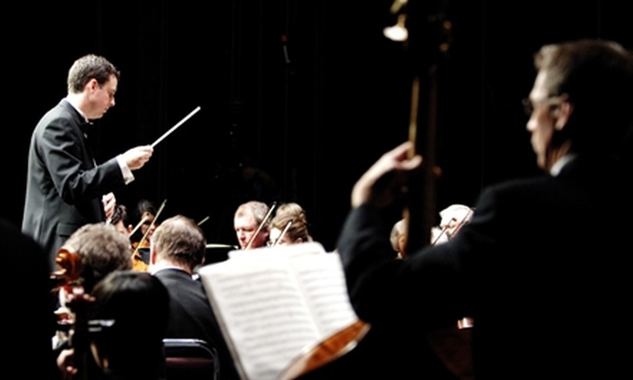 "North Bay Symphony - Downtown: $17 for One Adult Ticket to ""A European Tour of Resonant Classics"" at North Bay Symphony in North Bay ($34.50 Value)"