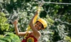 Zip Isle Zip Line Adventures - Hakalau: $76 for Zip-Line Tour and One-Week Access to World Botanical Gardens & Waterfalls at Zip Isle Zip Line Adventures ($153.12 Value)