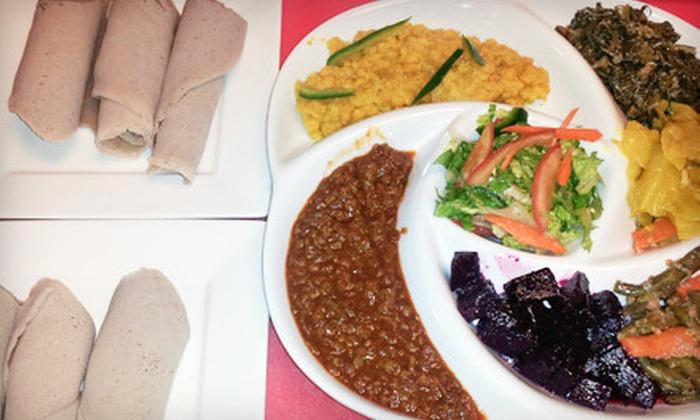 Mesob Ethiopian Restaurant - Nashville: $16 for a Meal for Two at Mesob Ethiopian Restaurant (Up to $31.98 Value)