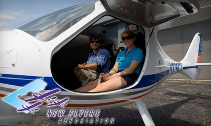 New Flyers Assocation - Brookside Woods: $49 for One Introductory Flight Lesson from the New Flyers Association ($99 Value)
