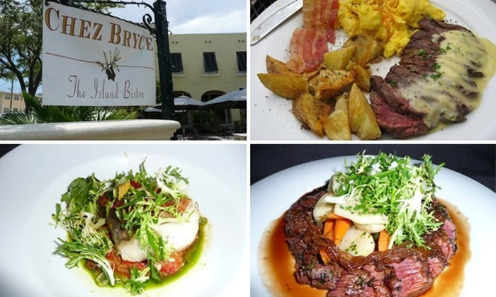 Chez Bryce  - Davis Islands: $25 for $55 Worth of French Cuisine at Chez Bryce
