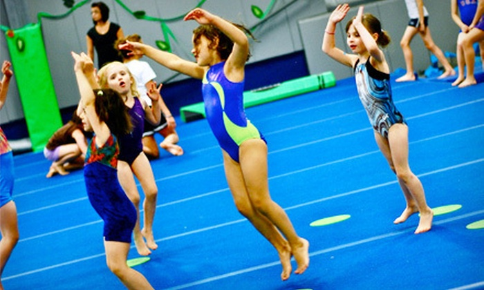 Roots Gymnastics - Rock Valley: Five Open Gymnastics Sessions for One or Two Kids at Roots Gymnastics in Westfield (Up to 56% Off)
