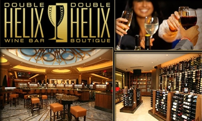 Double Helix Wine Bar & Boutique - The Strip: $25 for $50 Worth of International Wines at Double Helix Wine Bar and Boutique