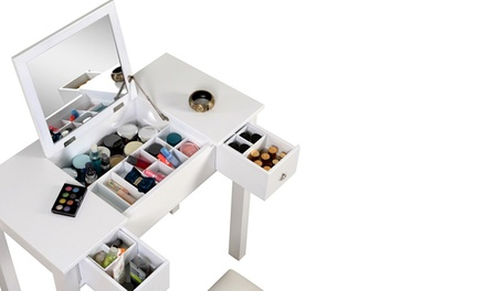 Make Up Accessory Dresser with Stool for AED 449