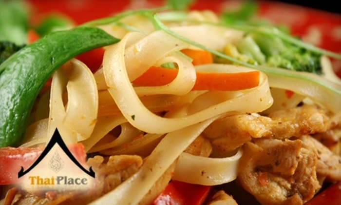 Thai Place - Springfield, MA: $7 for $15 Worth of Thai Fare at Thai Place