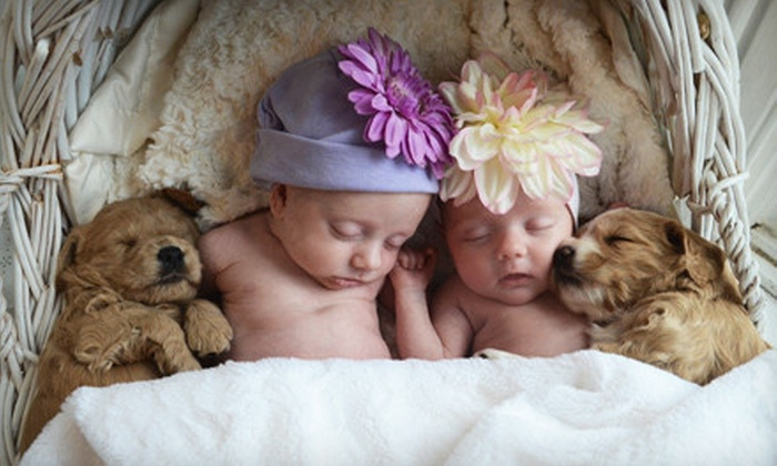 Little Rascals Photography - Mason: $59 for a Photo-Shoot Package with Prints at Little Rascals Photography in Mason ($204 Value)
