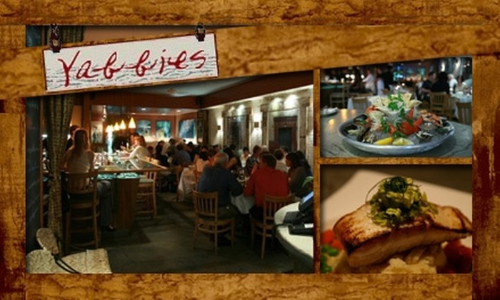 Yabbies Coastal Kitchen - Russian Hill: $20 for $40 Worth of Fresh Seafood and Drinks at Yabbies Coastal Kitchen