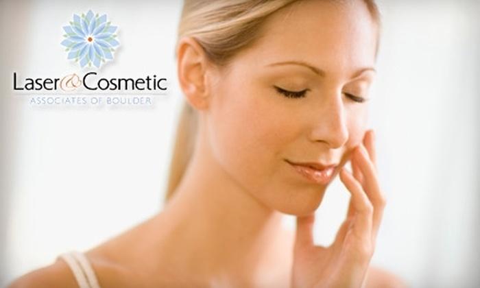 Laser & Cosmetic Associates of Boulder - Boulder: $69 for a Vitalize Peel at Laser & Cosmetic Associates of Boulder ($140 Value)