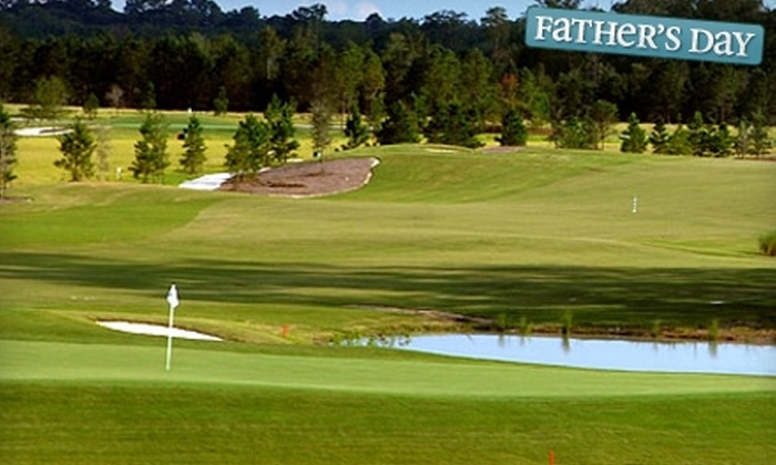 The Golf Club at Hilton Head Lakes - Hardeeville: $35 for 18 Holes of Golf for Two with Cart and Range Balls at The Golf Club at Hilton Head Lakes in Hardeeville (up to $95 value)