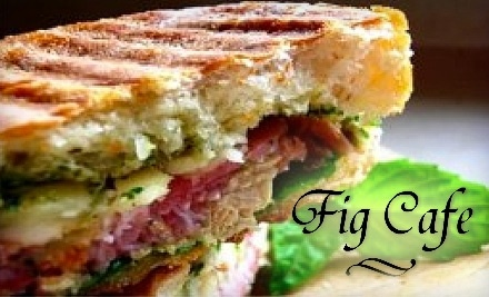 $20 Groupon to Fig Cafe & Grill - Fig Cafe & Grill in Fayetteville