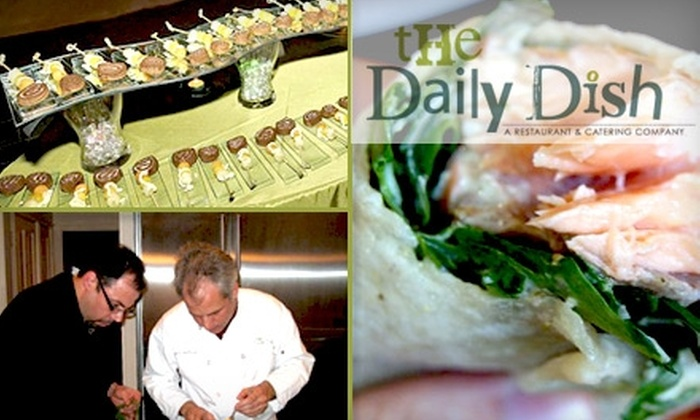 The Daily Dish - Washington DC: $10 for $20 Worth of Locally Inspired Fare at The Daily Dish
