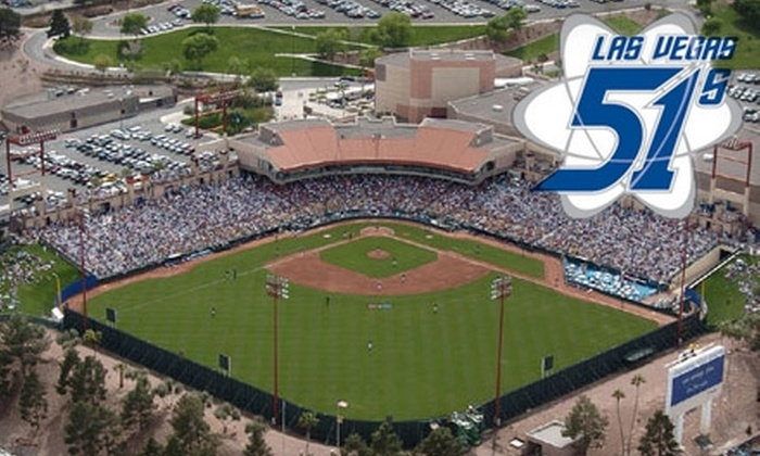 Las Vegas 51s - Downtown: $9 for Two Reserved-Level Tickets to Any Remaining Las Vegas 51s Regular-Season Home Game ($20 Value)