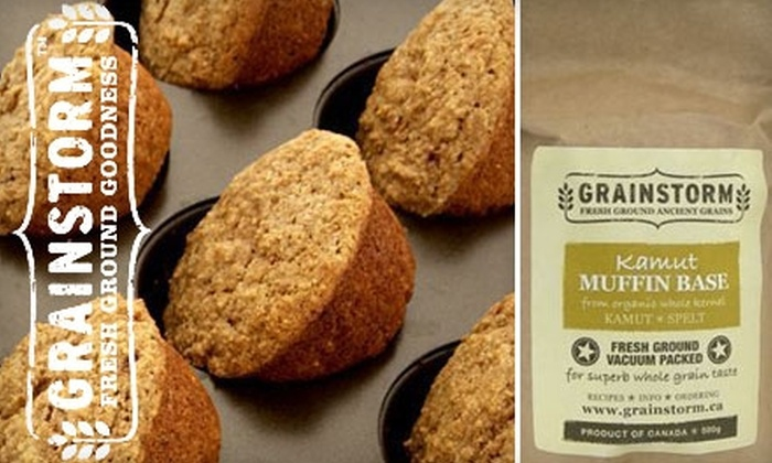GRAINSTORM - Rosedale: $10 for Three Artisan Baking Mixes from GRAINSTORM (Up to $23 Value)