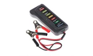 12V Car Digital Battery/Alternator Tester 15Amps