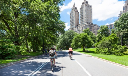 Bike Rental for One or Central Park Bike Tour for Two from Bike Rental Central Park (Up to 62% Off)