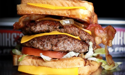 $15 for a Burger Meal for Two with Fries and Sodas at Mad Mike's Burgers ($24.15 Value)