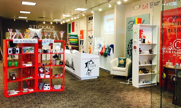 Stickalz - Lynnhaven Mall:  $12 for $20 worth of Wall Art and Decals from Stickalz