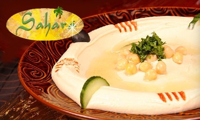 Sahara Mediterranean Grill - Utica: $15 for $30 Worth of Fare and Drinks at Sahara Mediterranean Grill in Shelby Township