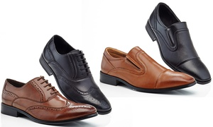 Buy 1 Get 1 Free:Adolfo Dress Shoes - Slip-Ons or Lace-Ups
