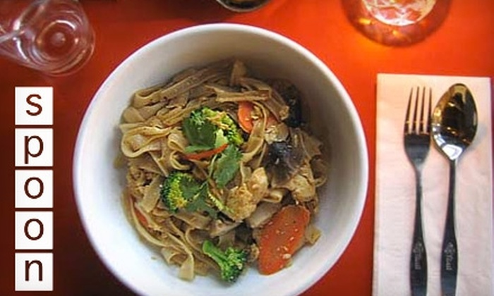 Spoon - Multiple Locations: $10 for $20 Worth of Thai Cuisine at Spoon