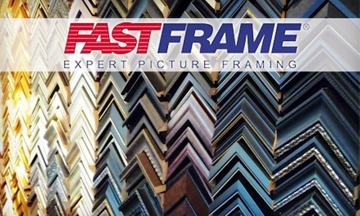 FastFrame - Historic Hudson: $40 for $100 Worth of Framing Services at FastFrame