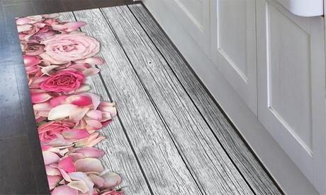 Teppich-Läufer mit digitalem Aufdruck und in der Größe nach Wahl für die Küche in ESCH