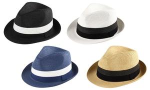 Frankie Men's Fedora Sun Hat