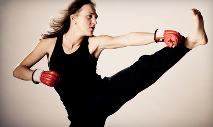 Muay Thai Lao Kickboxing Academy - Arden - Arcade: 5 or 10 Kickboxing Classes at Muay Thai Lao Kickboxing Academy (Up to 87% Off)