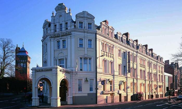 Angel Hotel Cardiff Menu