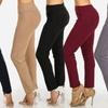 Women's Junior High Waist Stretchy Skinny Pants with Charm Belt