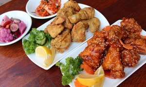 Doraji: Korean Chicken Meal with Drink for One ($12.50), Two ($25) or Four People ($50) at Doraji (Up to $70 Value)