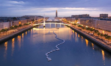 Le Havre: Up to 7-Night Getaway for Two with Welcome Drink, Parking and Optional Breakfast at Campanile Le Havre Centre