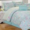 Printed 10-Piece Bedding Set (King Size)