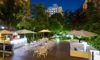Cocktail o copa y snack para 2 o 4 personas desde 16,95 € en Central Garden by Ayre Hoteles