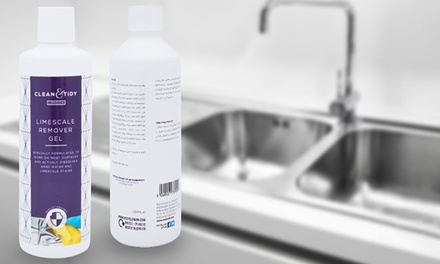 One or Two Bottles of Clean and Tidy Limescale Remover Gel 250ml