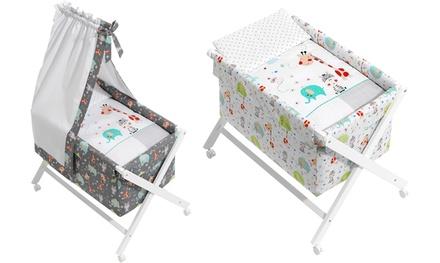 Culla per bambini disponibile in 2 colori con o senza tenda
