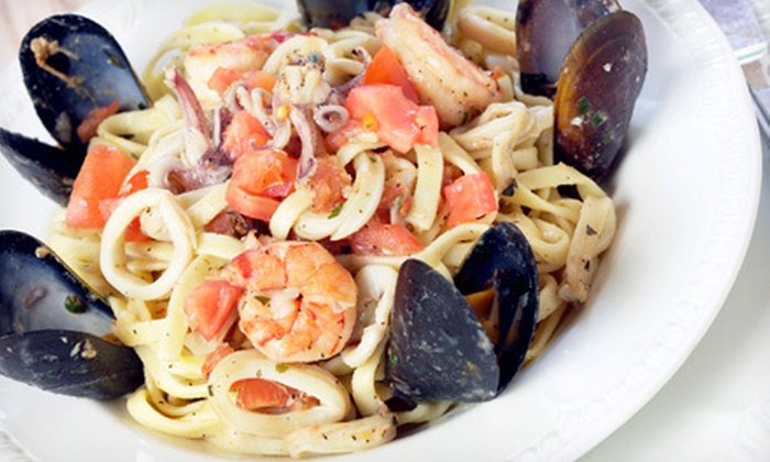 Feelgood Italian Fusion Grill - Secaucus: Italian-American Meal for Two or Four at Feelgood Italian Fusion Grill (Up to 62% Off)