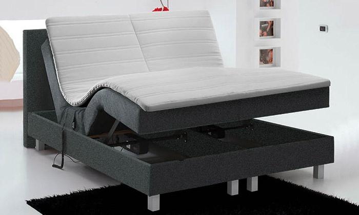 boxspring lectrique royal premium groupon. Black Bedroom Furniture Sets. Home Design Ideas