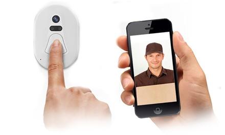 WiFi Video-Türsprechanlage mit Nachtsichtfunktion und Smartphoneanbindung inkl. Versand  (Frankfurt)