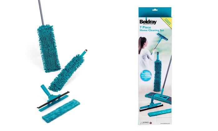Set de limpieza de 7 piezas beldray groupon - Limpieza de casas groupon ...