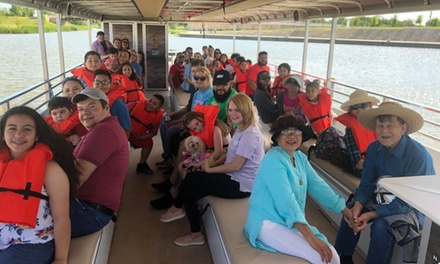 One Adult or Kid Ticket at Panther Island Boat Tours (Up to 53% Off)