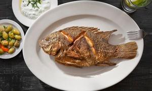 מסעדת הדגים שורי בורי: שורי בורי, מסעדת הדגים המיתולוגית בהרצליה פיתוח: ארוחת דגים משובחת לזוג ב-199 ₪ בלבד! אופציה לרביעייה + בקבוק יין