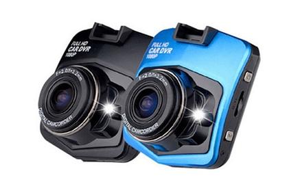 1 of 2 Full HD cameras voor autos met nachtzicht en ingebouwde batterij, naar keuze met 32 GB SD kaart