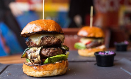 Burger, Chips and Drink for Up to Six at Band Of Burgers, Brick Lane